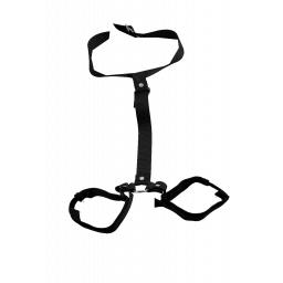 Luvvibes Neck Collar & Wrist Cuffs Restraints Set
