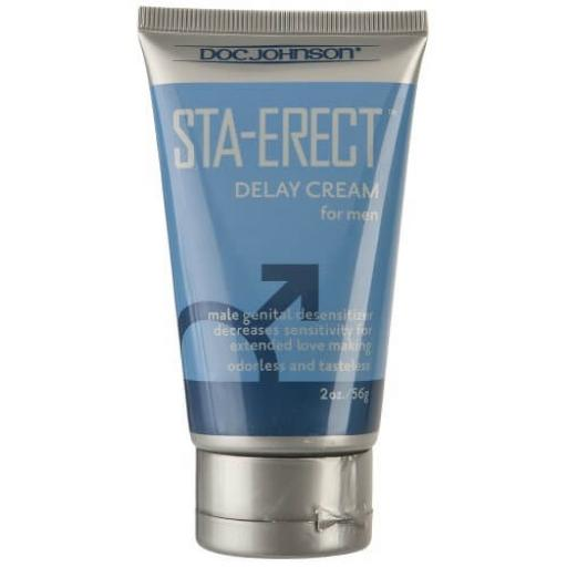 Doc Johnson Sta-Erect For Men-Cream