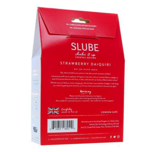 Slube Strawberry Daiquiri Water Based Bath Gel 500g