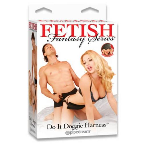 Fetish Fantasy Doggie Style Harness