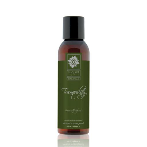 Sliquid Balance Collection Massage Oil 4.2oz-Tranquillity