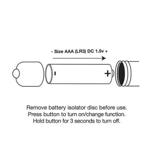 Rocks Off Cosmic Delight 10 Function Bullet Vibrator Ultra