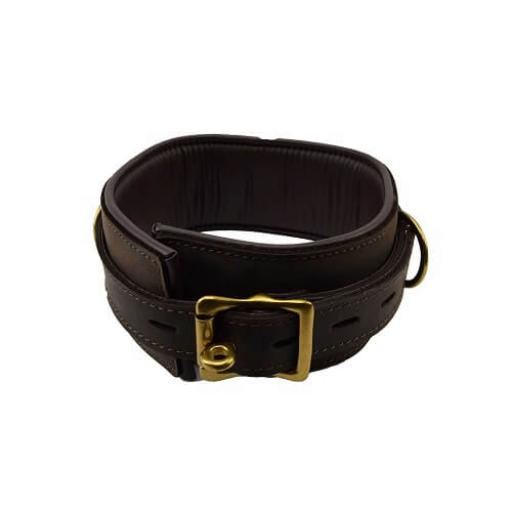 BOUND Nubuck Leather Collar