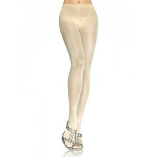 Leg Avenue Opaque Pantyhose Nude