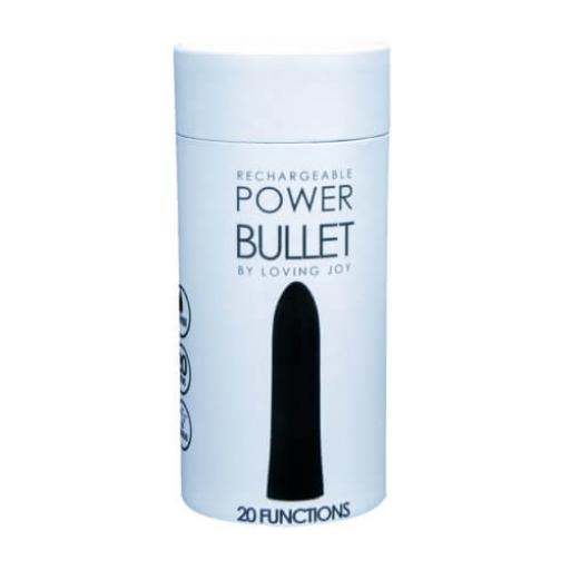 Loving Joy Power Bullet Vibrator-'Black'
