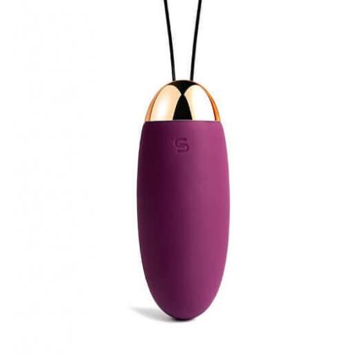 Svakom Elva Remote Control Vibrating Egg Bullet - Violet