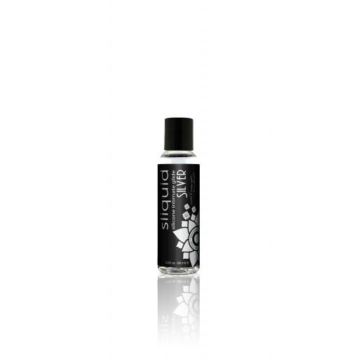 Sliquid Naturals Silver Silicone Lubricant-59ml