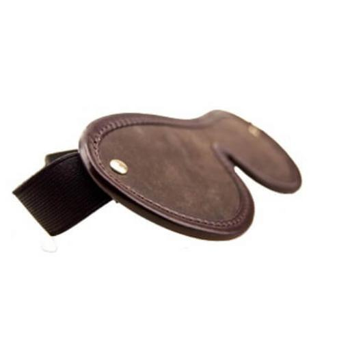 BOUND Nubuck Leather Blindfold