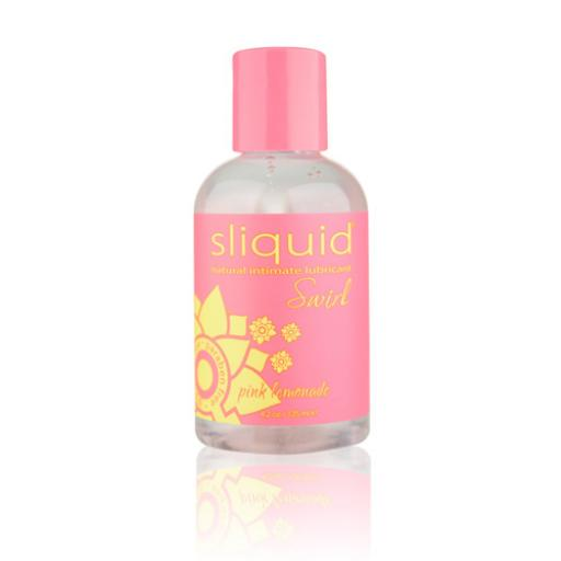 Sliquid Naturals Swirl Flavoured Lubricants-Strawberry Pomegranate