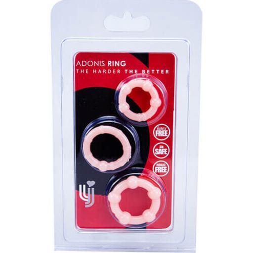 Loving Joy Pocket Pleasers Adonis Penis Rings