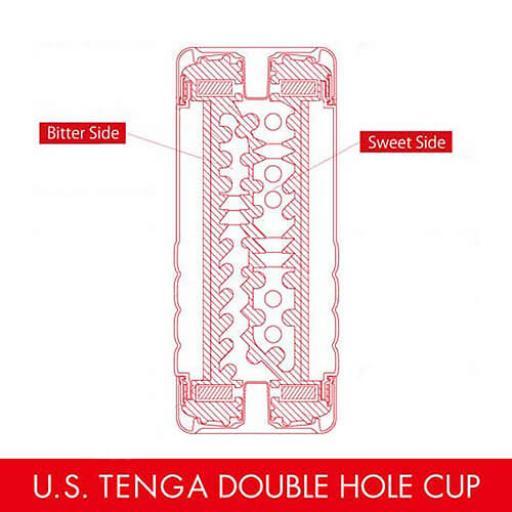 TENGA Ultra Soft Double Hole Cup
