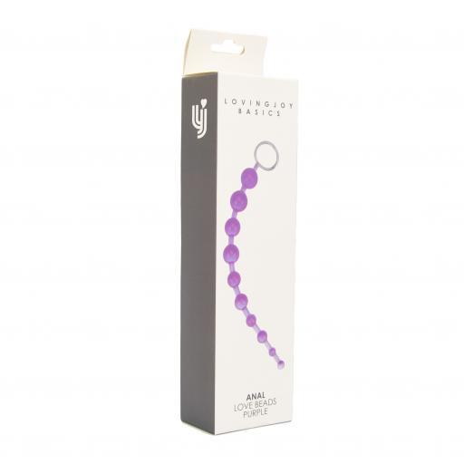 Loving Joy Anal Love Beads Purple