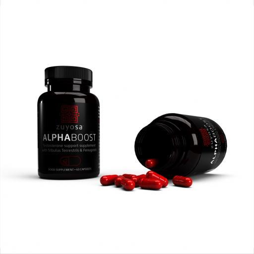 Zuyosa Alphaboost Supplement (60 Capsules)