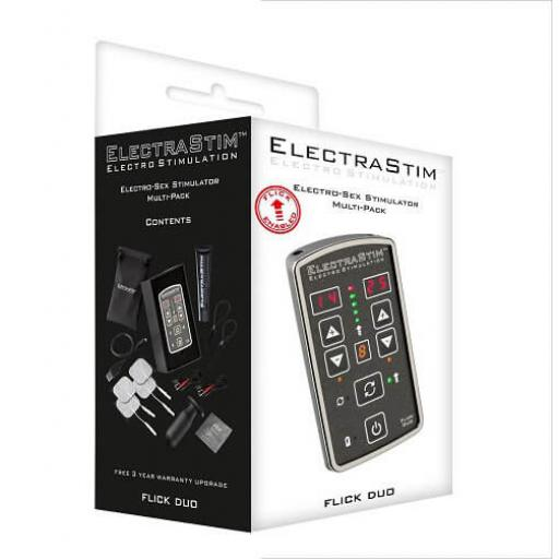ElectraStim Flick Duo Stimulator Multi-Pack EM80-M