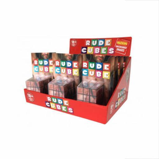 Rude Cube 3-D Combination Puzzle