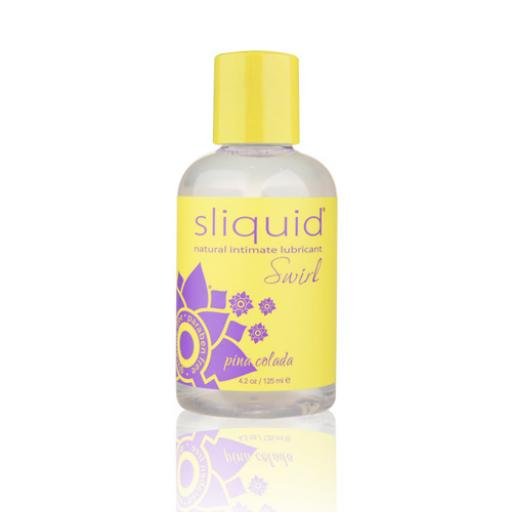 Sliquid Naturals Swirl Flavoured Lubricants-Pina Colada