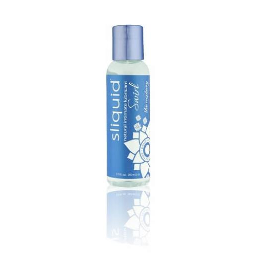Sliquid Naturals Swirl Flavoured Lubricants-Blue Raspberry 59ml