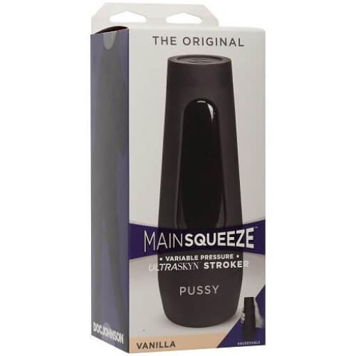 Doc Johnson Main Squeeze The Original Pussy-Vanilla